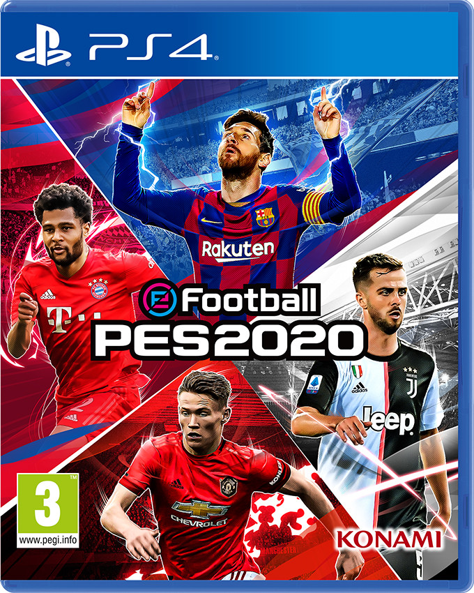 PS4 eFootball PES 2020 - Pro Evolution Soccer 2020