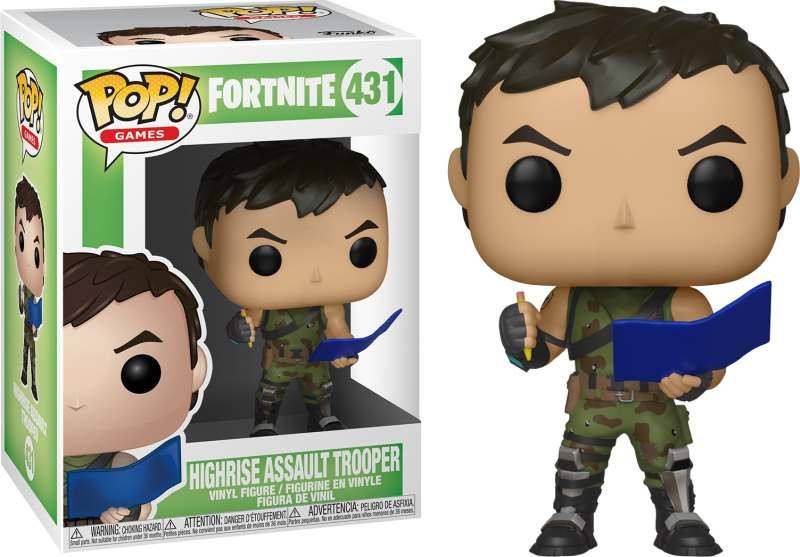Figura POP! Fortnite - High Rise Assault Trooper