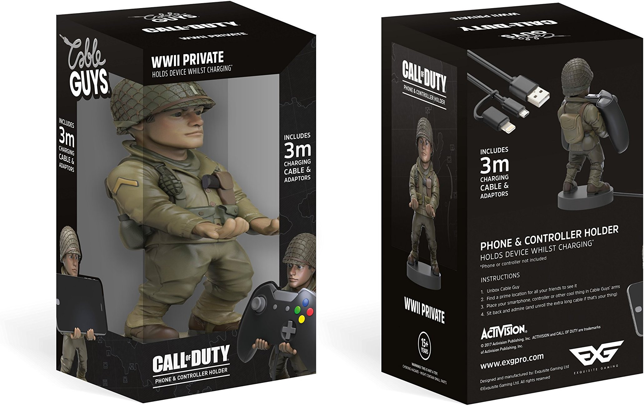 Figura CoD WW2 Cable Guy - Red Daniels