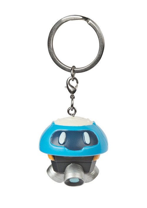 Privezak Overwatch Snowball 3D Charm Blue/White Keychain