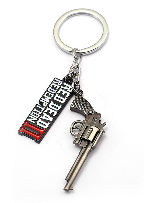 Privezak Red Dead Redemption 2 Pistol Keychain