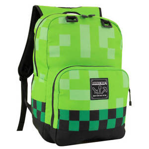 Ranac Minecraft 18 Creeper Backpack