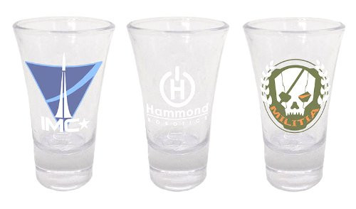 Čaše Titanfall Shotglasses Set of 3