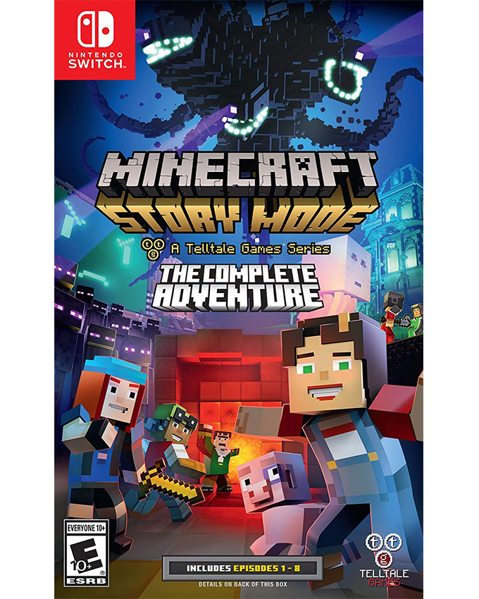 SWITCH Minecraft Story Mode - The Complete Adventure