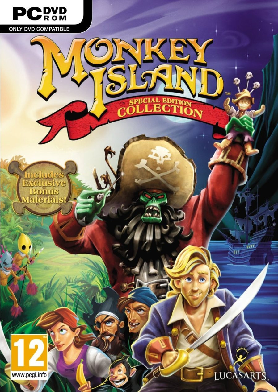 PCG Monkey Island Special Edition Colle
