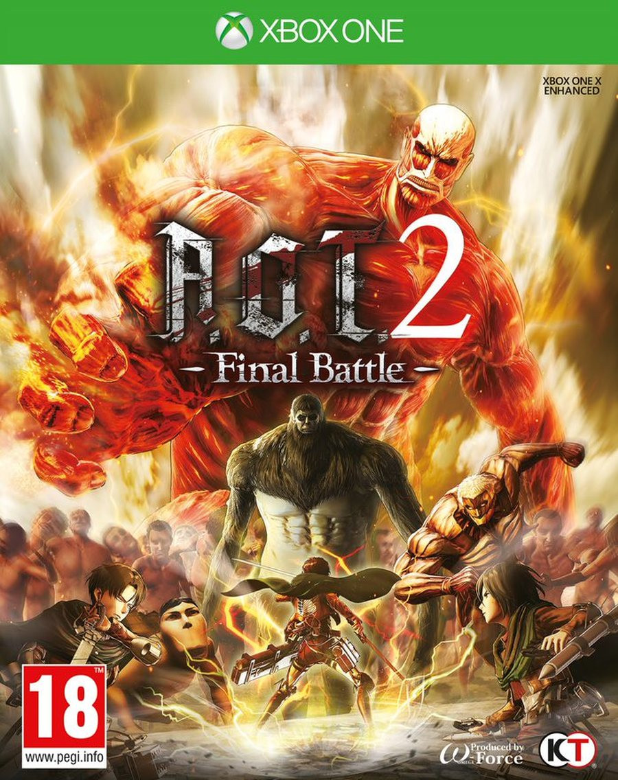 XBOX ONE Attack on Titan 2 (AOT 2) Final Battle