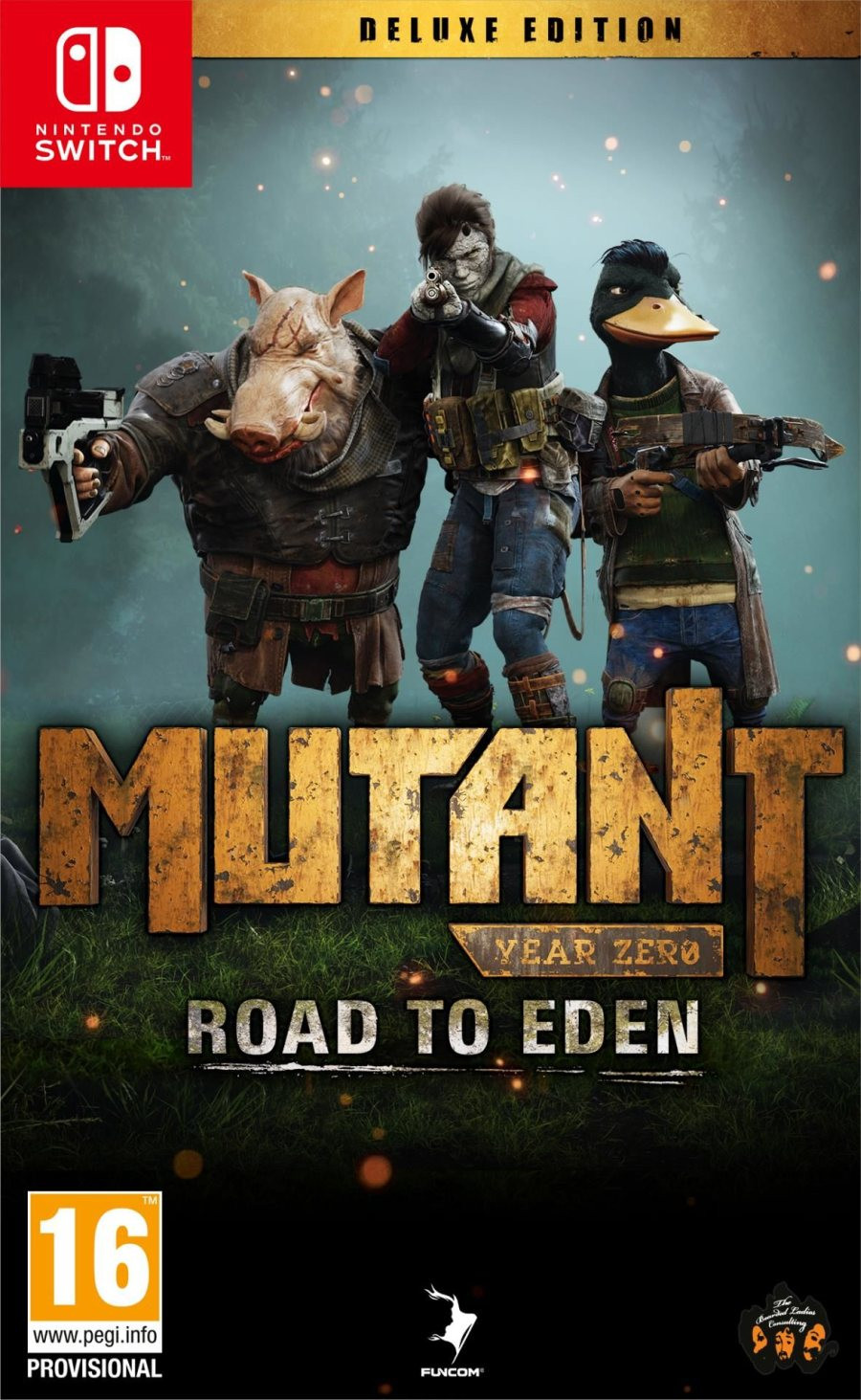 SWTICH Mutant Year Zero - Road to Eden - Deluxe Edition