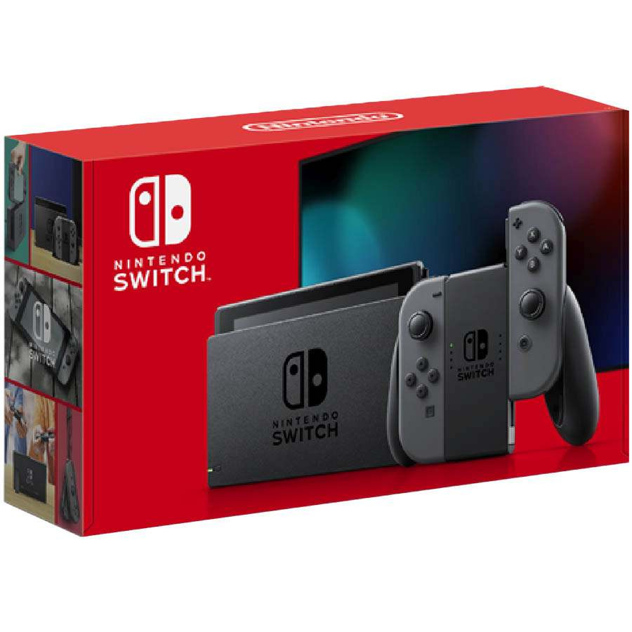 Konzola Nintendo SWITCH (Gray Joy-Con)