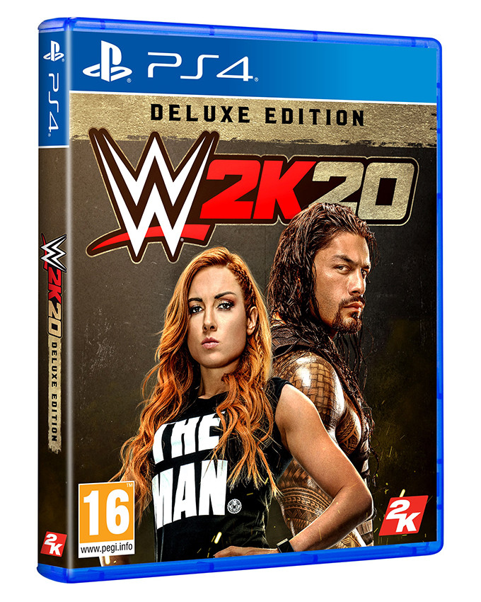 PS4 WWE 2K20 Deluxe Edition