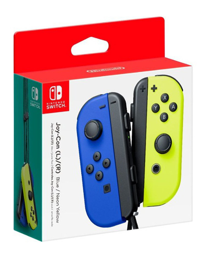 Gamepad Nintendo SWITCH Joy-Con par (Blue and Neon Yellow)
