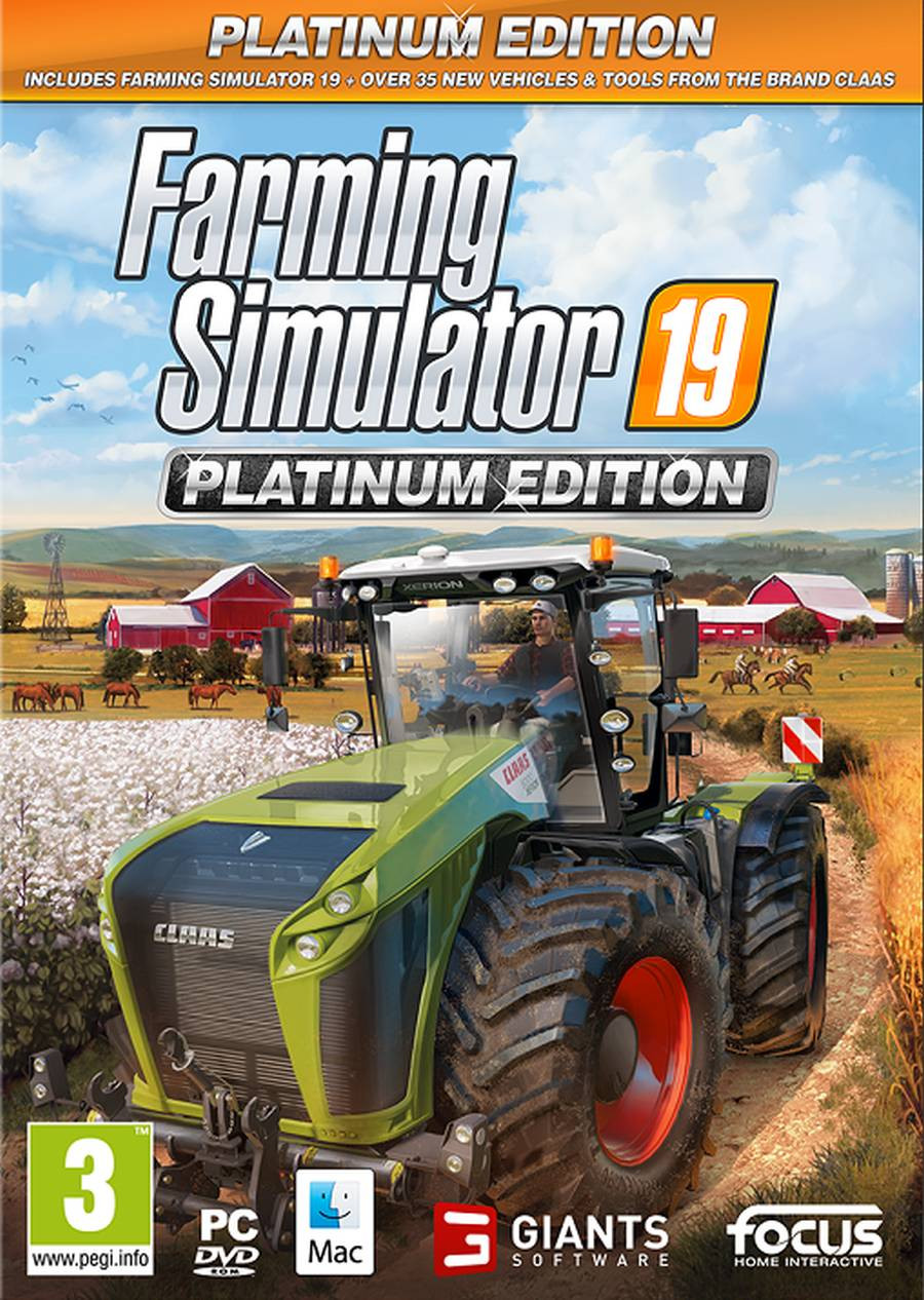 PCG Farming Simulator 19 - Platinum Edition