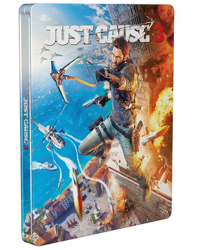 XBOX ONE Just Cause 3 Steelbook