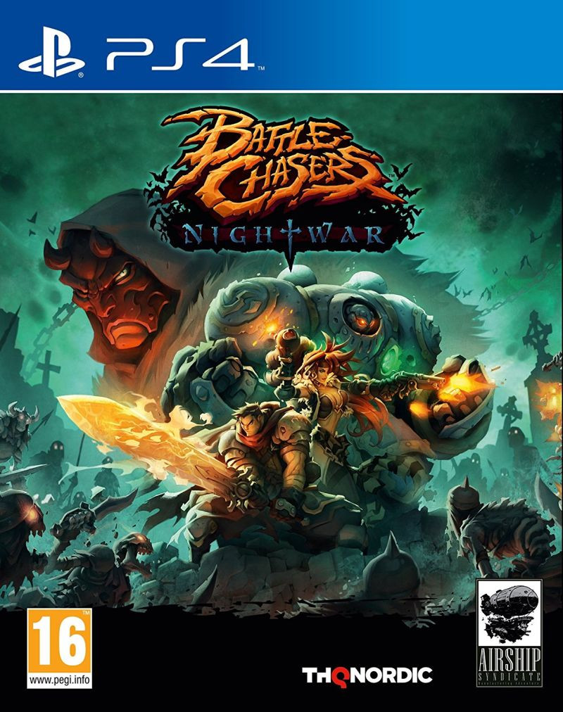 PS4 Battle Chasers Nightwar