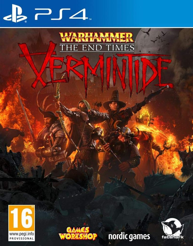 PS4 Warhammer The End Times Vermintide