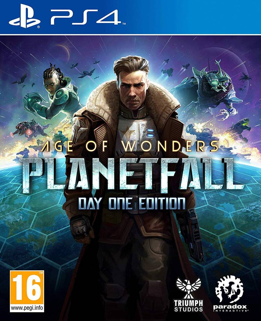 PS4 Age of Wonders - Planetfall