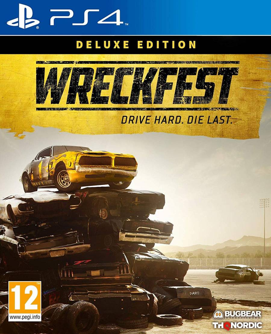 PS4 Wreckfest - Deluxe Edition