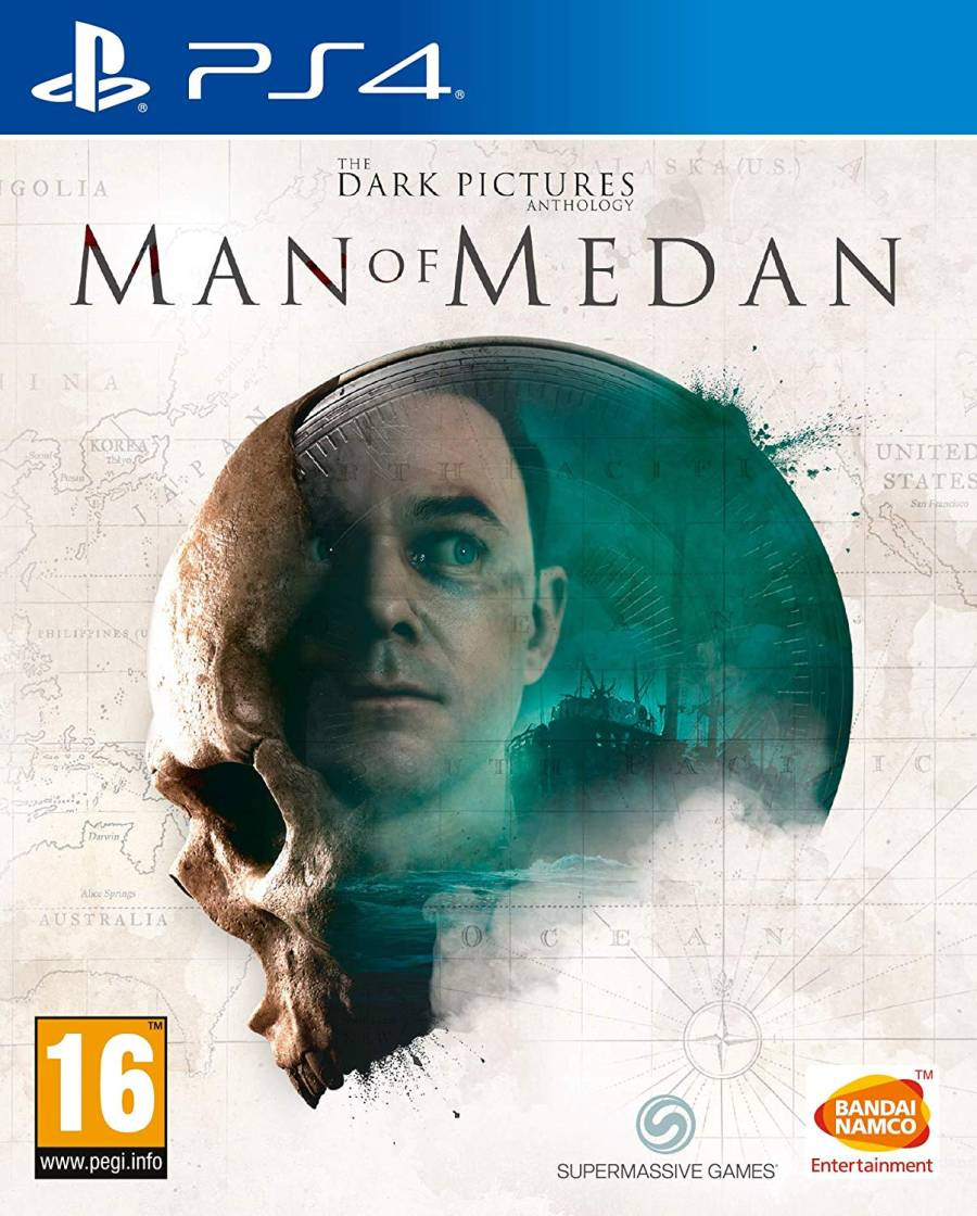 PS4 The Dark Pictures - Man of Medan