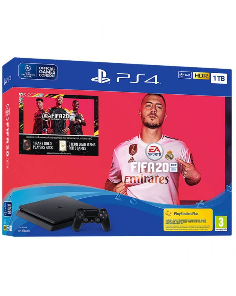 Konzola Sony PlayStation 4 1TB + PS4 FIFA 20 igra