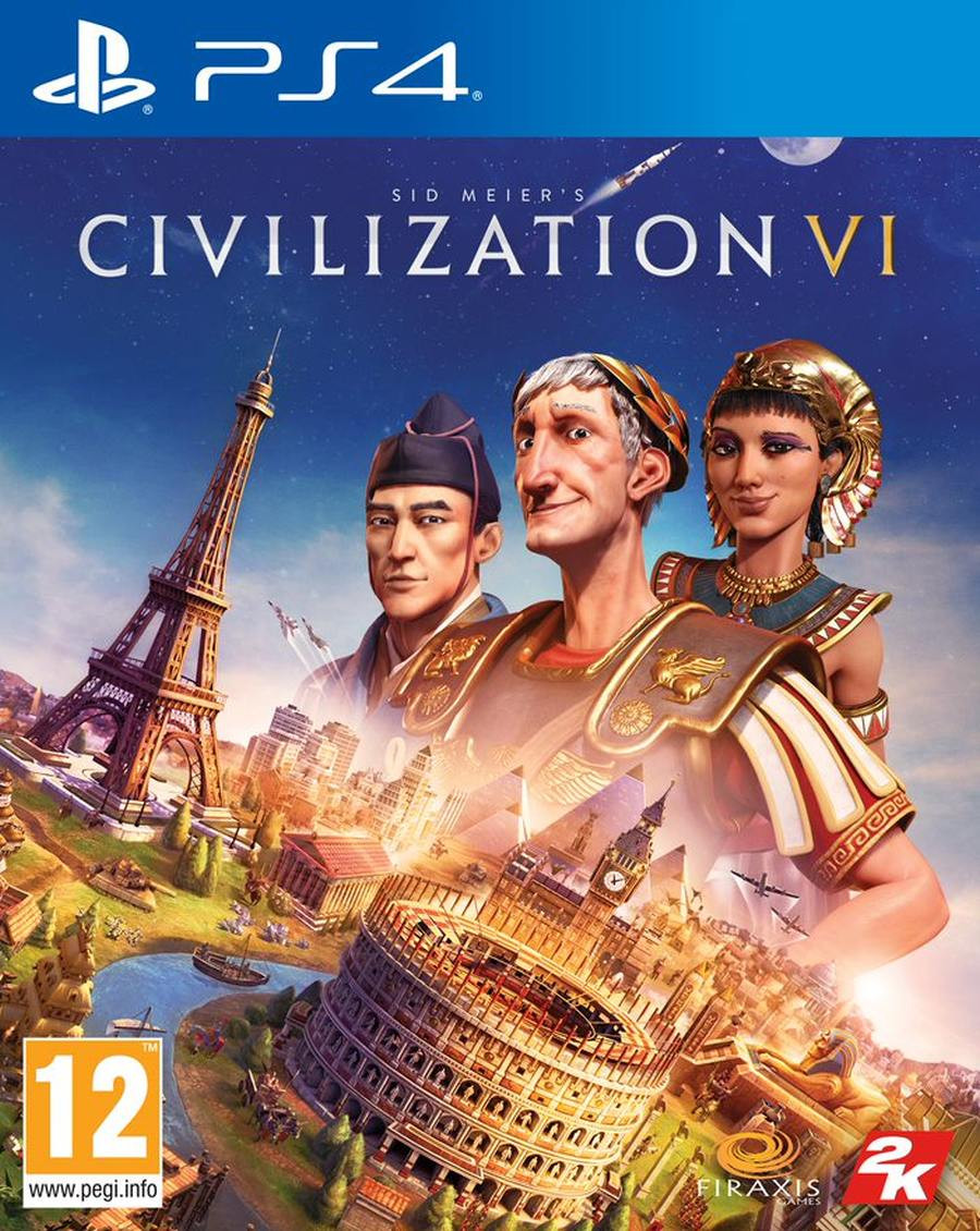 PS4 Civilization 6 (Sid Meiers Civilization VI)