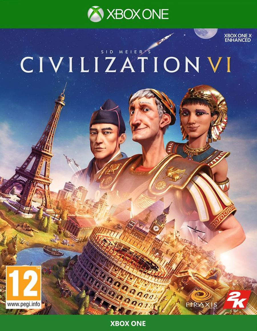 XBOX ONE Civilization 6 (Sid Meiers Civilization VI)