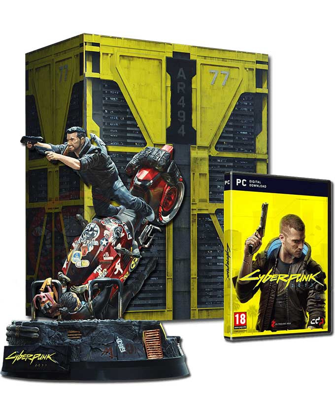 PCG Cyberpunk 2077 Collectors Edition