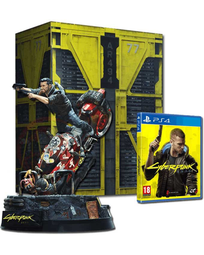 PS4 Cyberpunk 2077 Collectors Edition