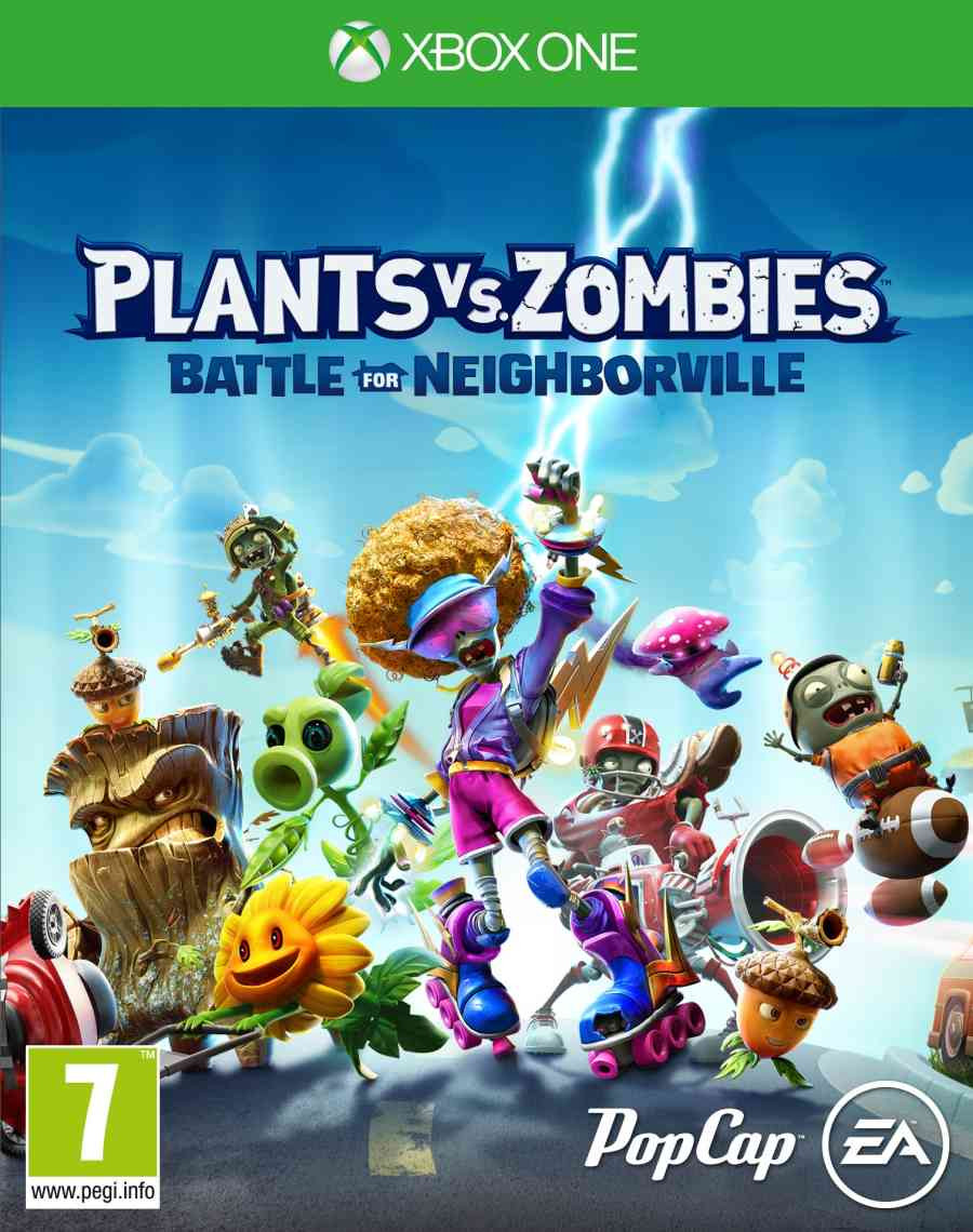 XBOX ONE Plants vs Zombies - Battle for Neighborville