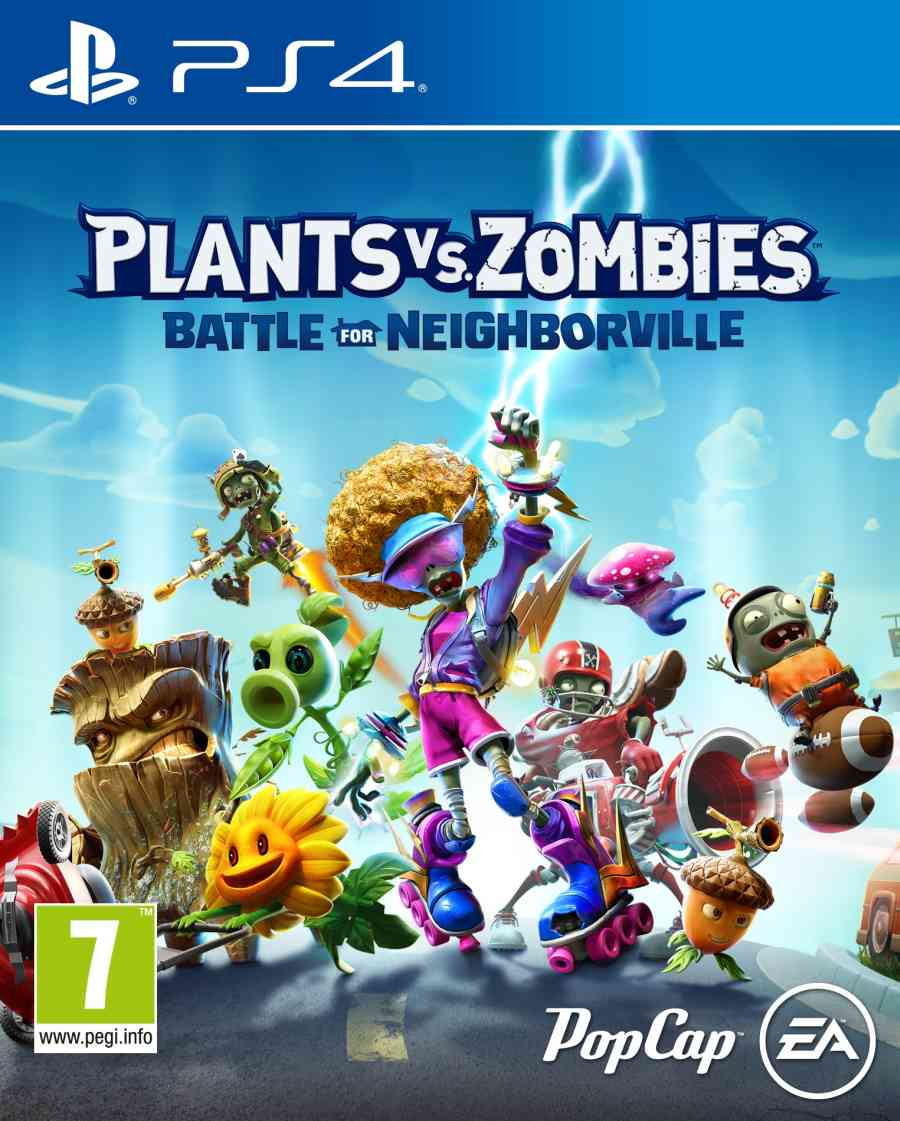 PS4 Plants vs Zombies - Battle for Neighborville