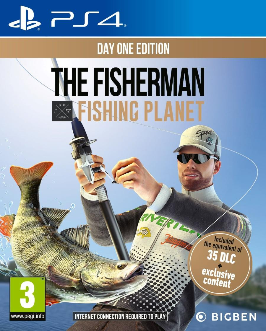 PS4 The Fisherman - Fishing Planet - Day One Edition