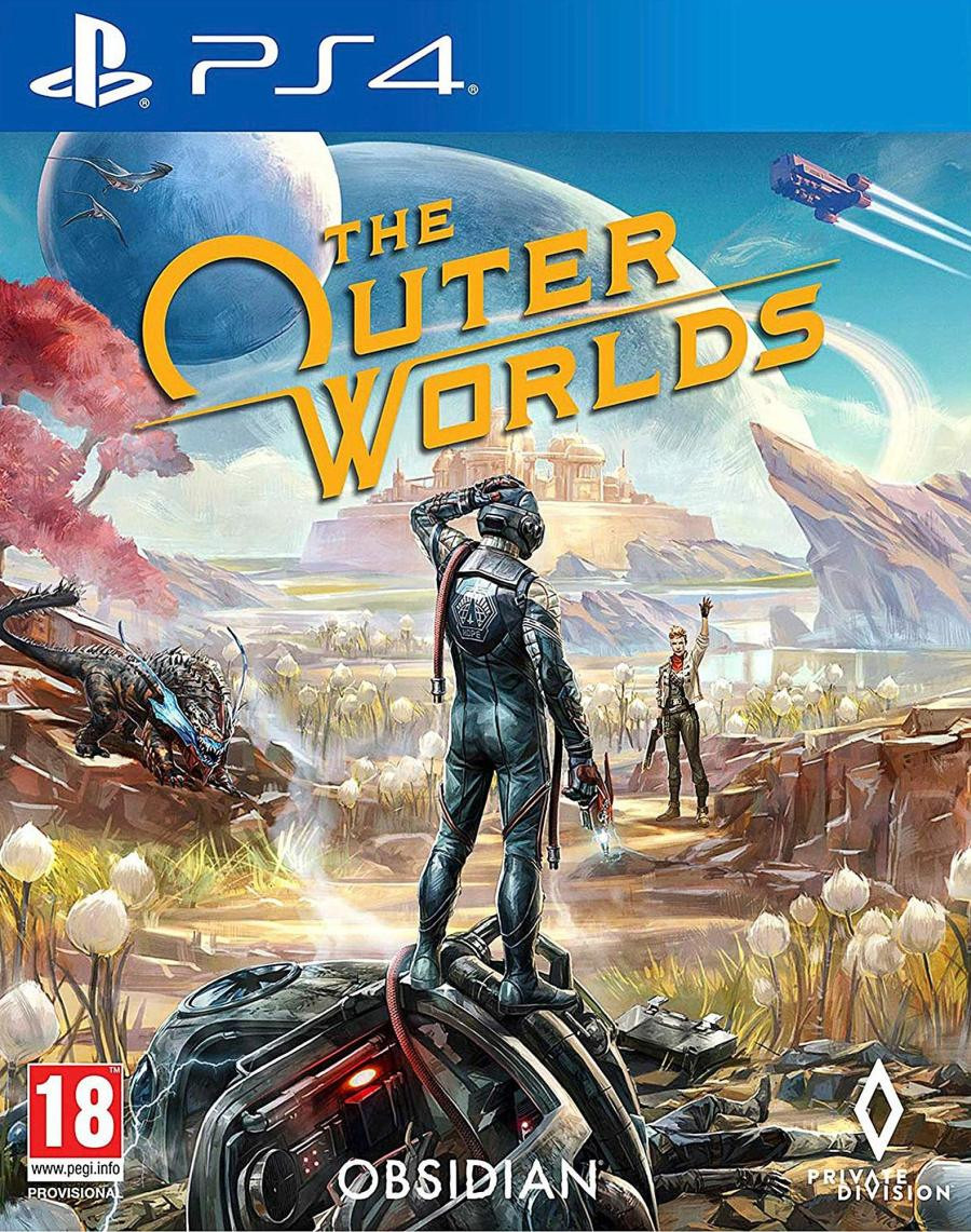 PS4 The Outer Worlds