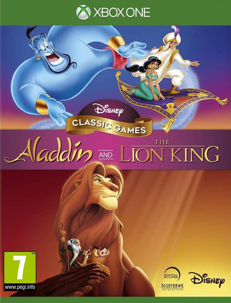 XBOX ONE Disney Classic Games - Aladdin and The Lion King