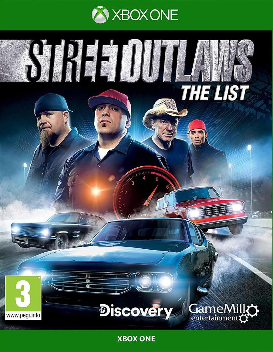 XBOX ONE Street Outlaws - The List