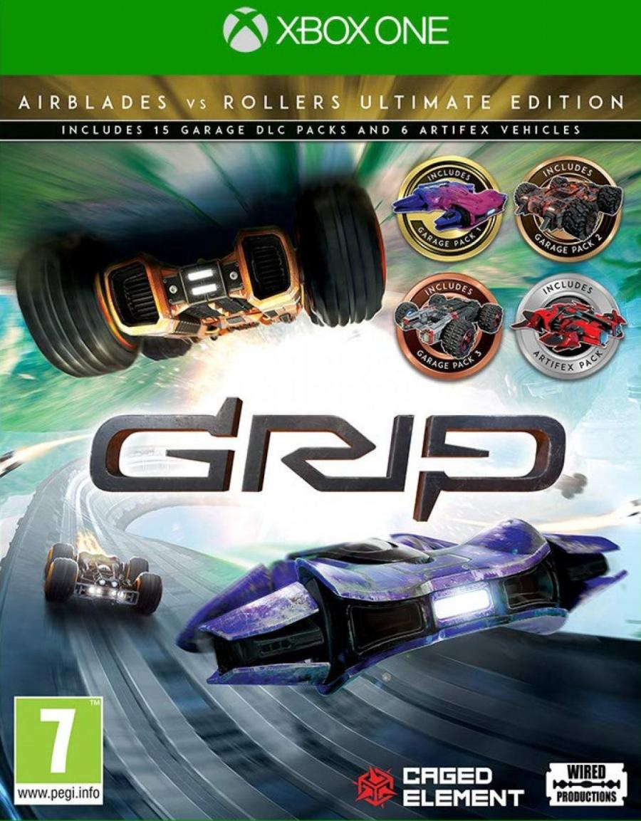 XBOX ONE GRIP - Combat Racing - Rollers vs AirBlades Ultimate Edition