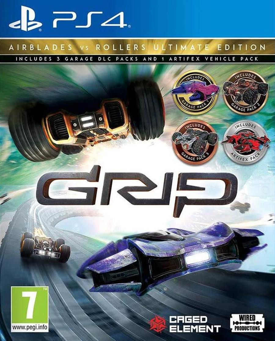 PS4 GRIP - Combat Racing - Rollers vs AirBlades Ultimate Edition