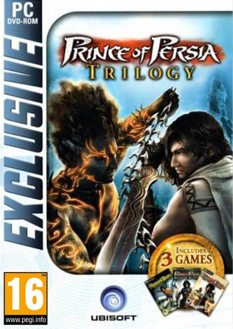 PCG Prince of Persia Trilogy (Sands of Time + Warrior Within + Two Thrones)