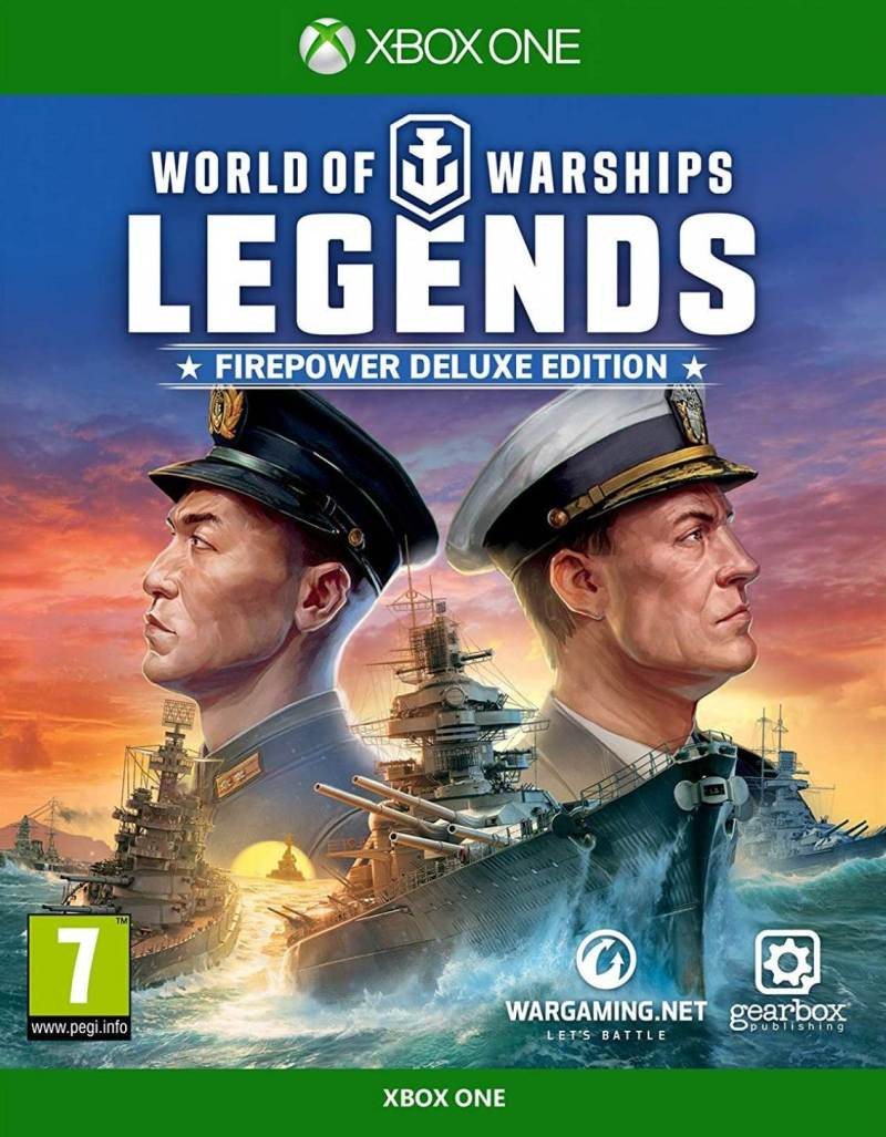 XBOX ONE World of Warships Legends - Firepower Deluxe Edition