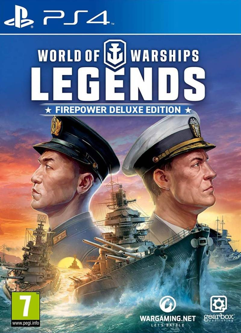 PS4 World of Warships Legends - Firepower Deluxe Edition