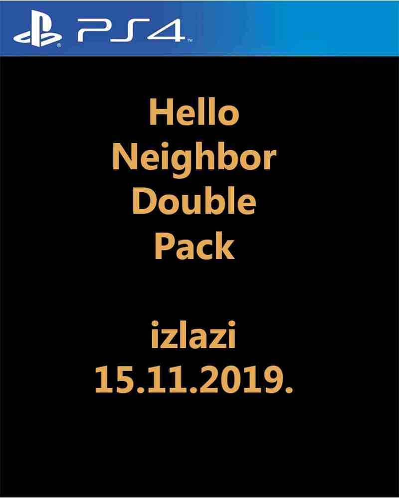 PS4 Hello Neighbor Double Pack