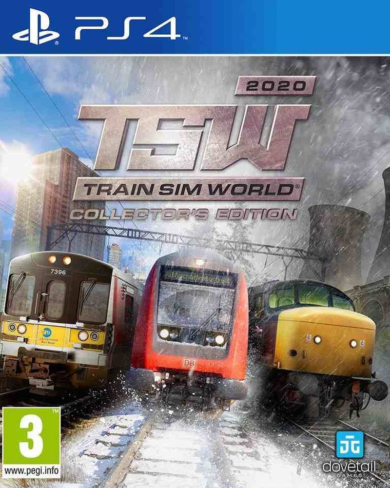 PS4 Train Sim World 2020 Collectors Edition