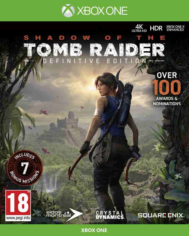 XBOX ONE Shadow of the Tomb Raider - Definitive Edition
