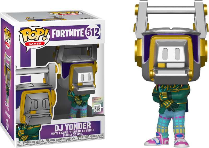 Figura POP! Fortnite - DJ Yonder
