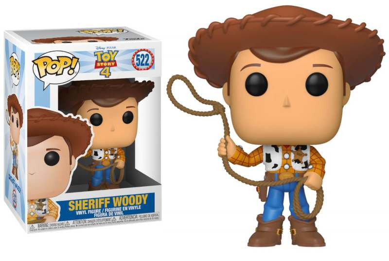Figura POP! Toy Story 4 - Sheriff Woody