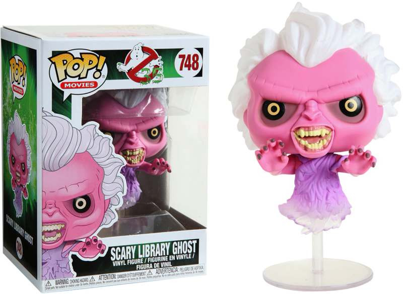 Figura POP! Ghostbusters - Scary Library Ghost