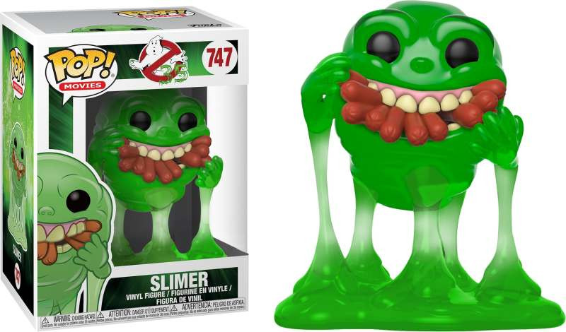 Figura POP! Ghostbusters - Slimer with Hot Dogs