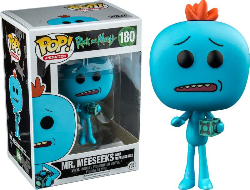 Figura POP! Rick and Morty - MeeSeeks with Box