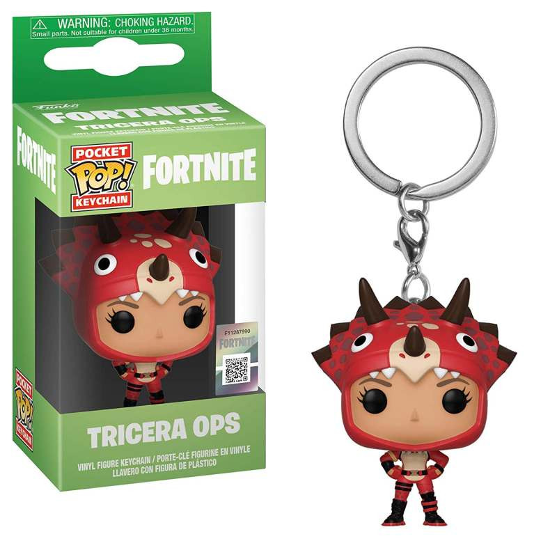 Privezak Fortnite POP! Tricera Ops