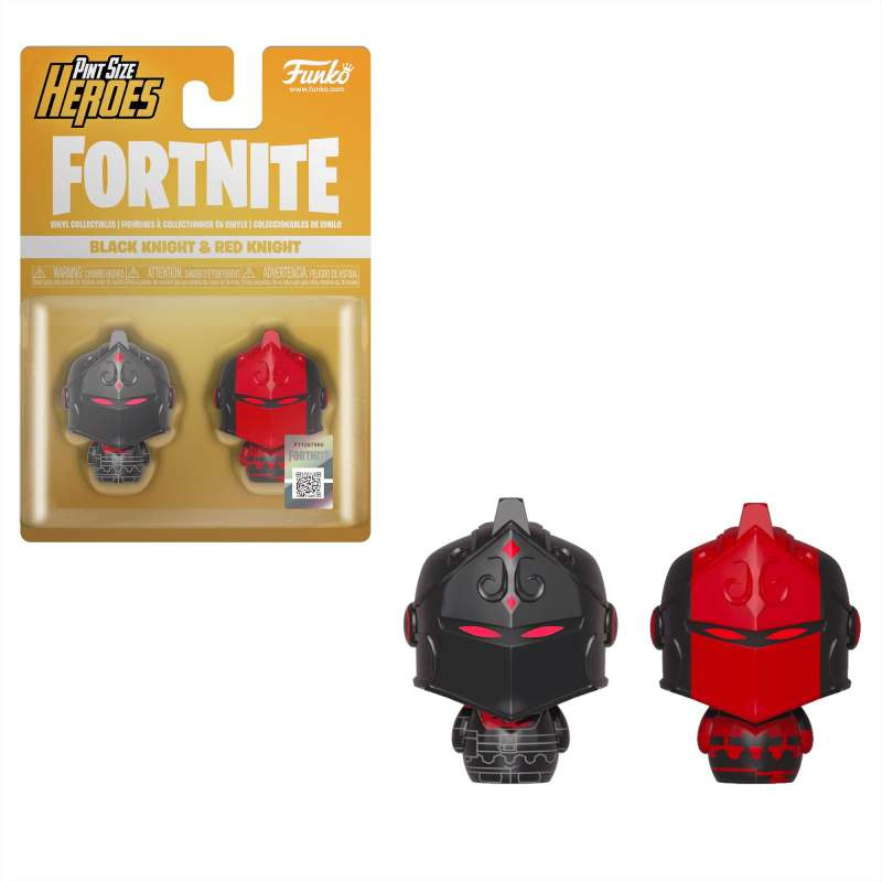 Figura POP! Fortnite - Pint Size Heroes Black Knight and Red Knight