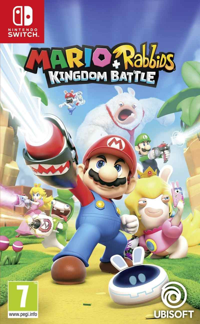 SWITCH Mario and Rabbids Kingdom Battle - igrica za Nintendo Switch