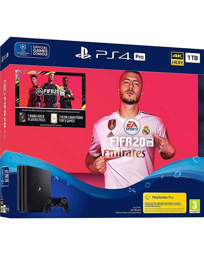 Konzola Sony Playstation 4 Pro 1TB + PS4 FIFA 20