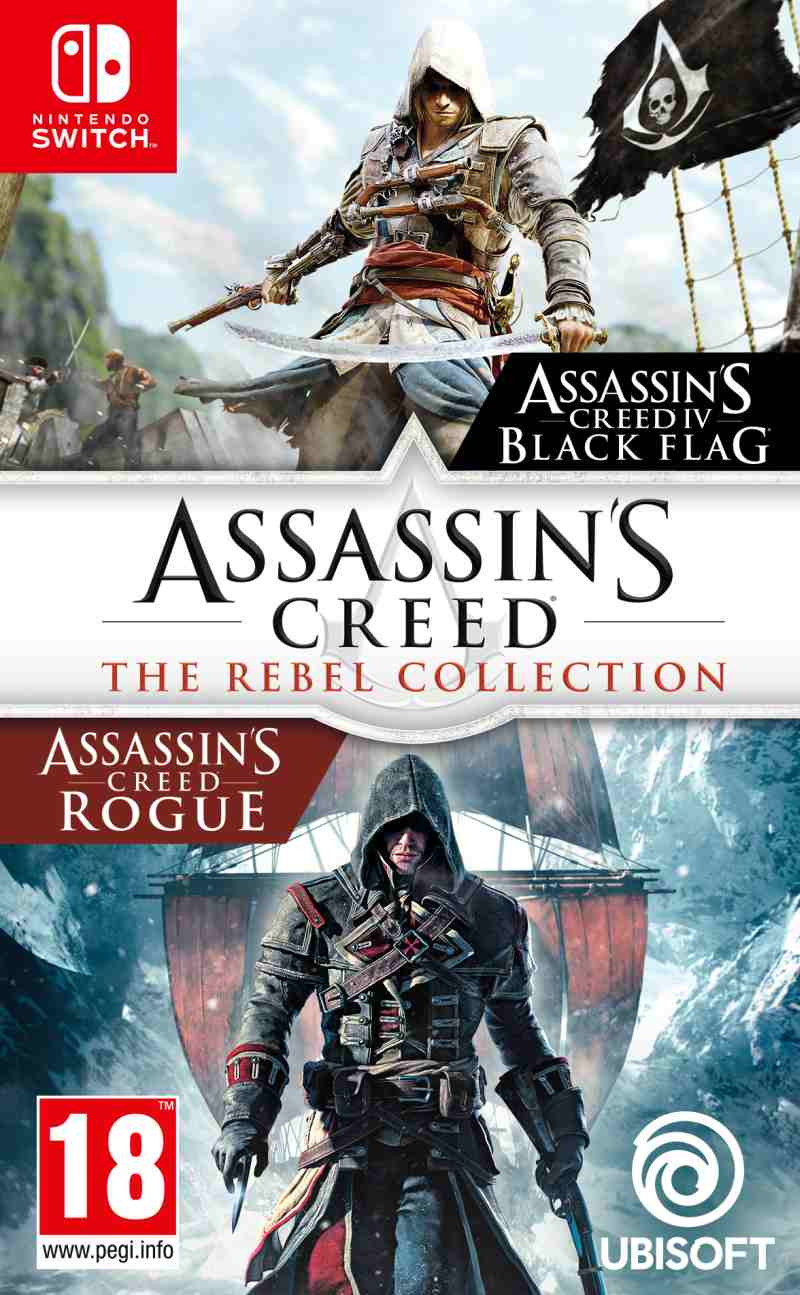 SWITCH Assassins Creed Rebel Collection